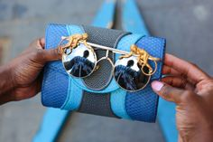 NYFW by Humans of New York // MONKEYS these are a basic necessity!