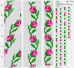 Bead Crochet Pattern 16 Circumference