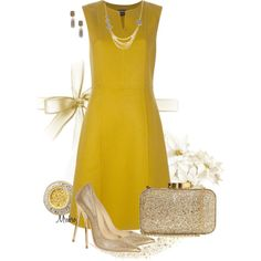 Yellow mellow ..., created by mrsbro on Polyvore