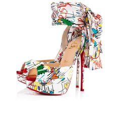 CHRISTIAN LOUBOUTIN Jersey Vamp. #christianlouboutin #shoes #