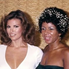 Raquel Welch and Minnie Riperton