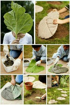Concrete leaf cover w thin layer add wire mesh more concrete smooth cover and let cure spritz if it s hot basin planter bird bath salvabrani add basin bath bird concrete cover cure hot layer leaf mesh planter salvabrani smooth spritz wire wthin
