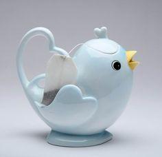Blue Bird Teapot