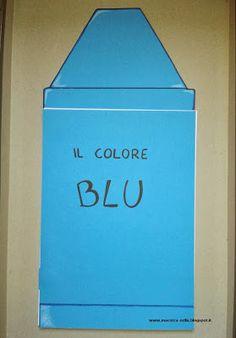 maestra Nella: il colore BLU