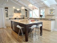Image result for kitchen island with end seating