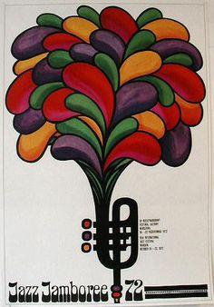Jazz Jamboree '72 - 15th International Jazz Festival, 1972, by Hubert Hilscher
