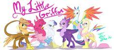 My Little Griffon by FarewellDecency