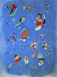Cielo Azul, Kandinsky