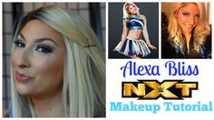 Welcome to another edition of WWE Wednesday! Bringing you some NXT realness, with the Lovely Alexa Bliss. Bliss Makeup, Beauty Tips, Beauty Hacks, Nxt Divas, Makeup Inspiration, Superstar, Wwe, Wednesday, Costume
