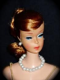 Vintage Blonde Bubblecut Barbie