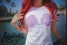 Urban Mermaid Tee Perfect for hipster mermaids and Little Mermaid fans alike! Traci Hines, you're a genius  I need this in my life...asap... with some green skinny jeans.