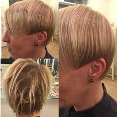 Haircut Haircolor Før & efter