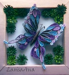 *QUILLING ~ Although this site is written in Bulgarian, it has the most wonderful photos of quilling that can inspire ideas for quilled card designs. By Larisa Ana Litvinenko