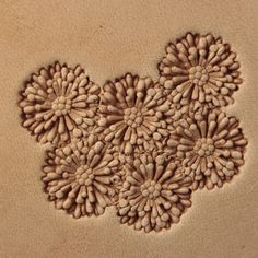 Leather Stamps, Leather Art, Leather Tooling, Leather Crafts, Used Cnc Machines, Christmas Crunch, Aster Flower, Stamping Tools, Leather Carving