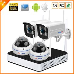 BESDER P2P Wireless 4CH CCTV System Wireless NVR & Wifi IP Camera Kit Outdoor Vandal Proof Dome Camera Wifi 1080P 960P 720P  Price: 166.32 & FREE Shipping  #computers #shopping #electronics #home #garden #LED #mobiles #rc #security #toys #bargain #coolstuff |#headphones #bluetooth #gifts #xmas #happybirthday #fun Dome Camera, Ip Camera, Wireless Camera, Bluetooth, Wifi Antenna, Surveillance System, Wide Angle Lens, Kit, Electronics Gadgets