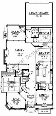 Pebble Creek House Plan
