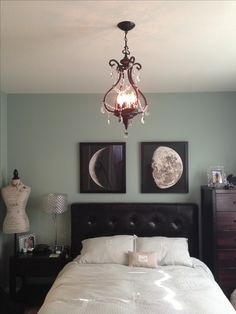 moon phases bedroom art                                                                                                                                                     More