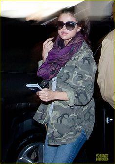Selena Gomez in Dolce Gabbana sunglasses
