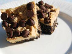 PB Brownie Bars I LettuceOM