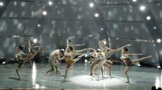SYTYCD - The top 16 perform a group routine choreographed by Stacey Tookey and Peter Chu.