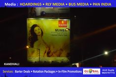 Banners Advertising Through Billboards for Banks At Dadar - Global Advertisers