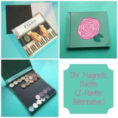 DIY Magnetic Makeup Palette (Z-Palette Alternative)