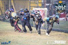 Rampage Paintball Team de Colombia-Bogota en el EPPL de Ecuador en Salinas.