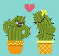 loving couple of cactus taking a pictures with camera Vector Amor, Cactus House Plants, Cactus Cactus, Cactus Vector, Cactus Shirt, Christmas Ad, Little Plants, Wallpaper Backgrounds, Wallpaper Fofo