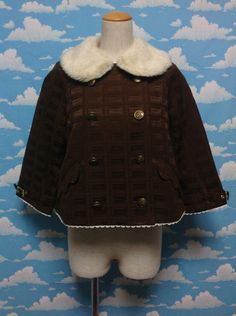 Royal Chocolate Jacket in Brown from Angelic Pretty - Lolita Desu