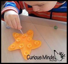 Water dropping and marble balancing - Busy bag - Montessori - fine motor learning activity for toddlers and preschoolers learning toy