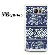 Elephant Tribal Samsung Galaxy Note 5 Case
