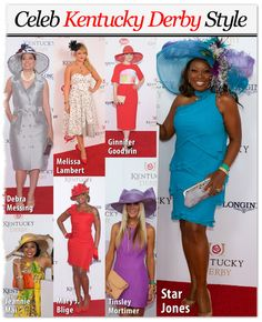2012 Kentucky Derby Celebrity Red Carpet/Fashion - May 5, 2012