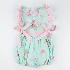 Hey, I found this really awesome Etsy listing at https://www.etsy.com/listing/264354621/vintage-baby-romper-girl-vintage-outfit