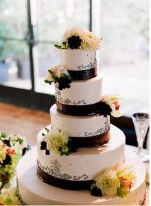 15 ideas para realizar pasteles de boda muy hermosos (15)