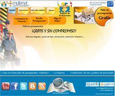 """Aplicación """"www.buscapresupuestos.com"""" para el canal multimat"""