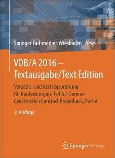 Vob/A 2016 – Textausgabe/Text Edition PDF