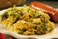 Broccoli-Rice Casserole (No Canned Soup) Brocolli, cheese and rice casserole from scratch! No canned soup or processed cheeses. Broccoli Cheese Rice, Broccoli Rice Casserole, Fresh Broccoli, Casserole Recipes, Brocolli Rice, Broccoli Chicken, Chicken Soup, Casserole Ideas, Chicken Divan