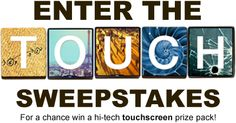 UssPromotions.com is organizing weekly Fox Touch Sweepstakes and is giving away the chance to win a high-tech touchscreen prize pack!