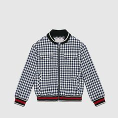 Gucci Cruise 2016 Children's cotton seersucker jacket Seersucker Jacket, Boy Fashion, Fashion Design, Boy Blue, Girls Shopping, Kids Boys, Cruise, Girl Outfits, Gucci