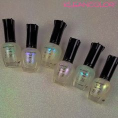 For all holographic fans out there, check out the full line of new Holographic Toppers - they're out of this world!   #kleancolor #holographictopper #holographic #colorchanging #naillacquer #nailpolish #nails #makeup #cosmetics #beauty