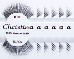 6packs Eyelashes - 107 (Same factory and production line as Red Cherry) -- Click image for more details.
