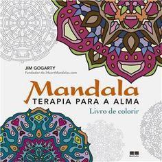 Livro – Mandala: Terapia Para a Alma - Jim Gogarty
