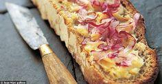 Tartine de beurre salé, râpée de radis roses