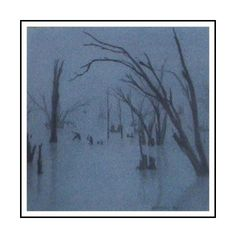 Graveyard II Fine Art, Visual Arts, Fine Art Paintings