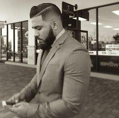Sharp hair, sharp suit... http://instagram.com/gentlemensbarberclub83