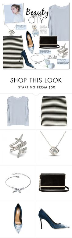 """""""Jeulia"""" by mada-malureanu ❤ liked on Polyvore featuring See by Chloé, T By Alexander Wang, Diane Von Furstenberg, Dsquared2, vintage, women's clothing, women's fashion, women, female and woman"""