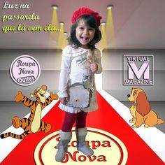 Você já viu as roupas infantis da Roupa Nova Outlet? #RoupaNova #Outlet #PreçoBaixo #ModaInfantil #LookdoDia