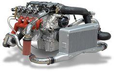 engine turbo  | APS Stealth Intercooled Twin Turbo Pontiac GTO/Holden Monaro