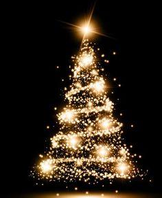 Árboles de Navidad Dorado soloimagenesde.com