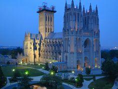 Washington National Cathedral, via Flickr.